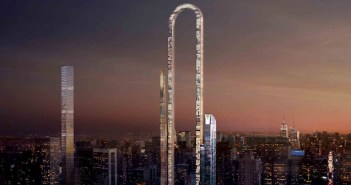 "A Greek Architect Wants to Twist Up the Famed NYC Skyline with his ""Big Bend"" Concept"