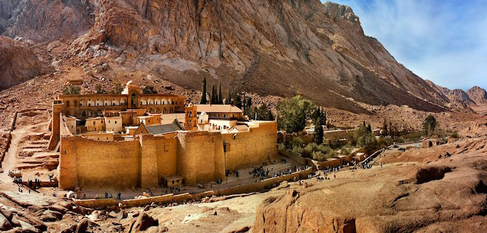 ISIS Gunmen Attack Historic St. Catherine Greek Orthodox Monastery in Egypt