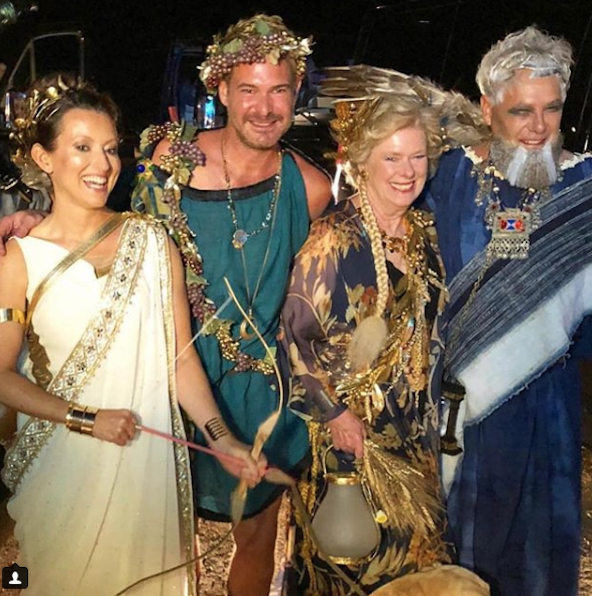 (Photos) NYC's Elite Celebrate Homeric Inspired Birthday Bash on Mykonos