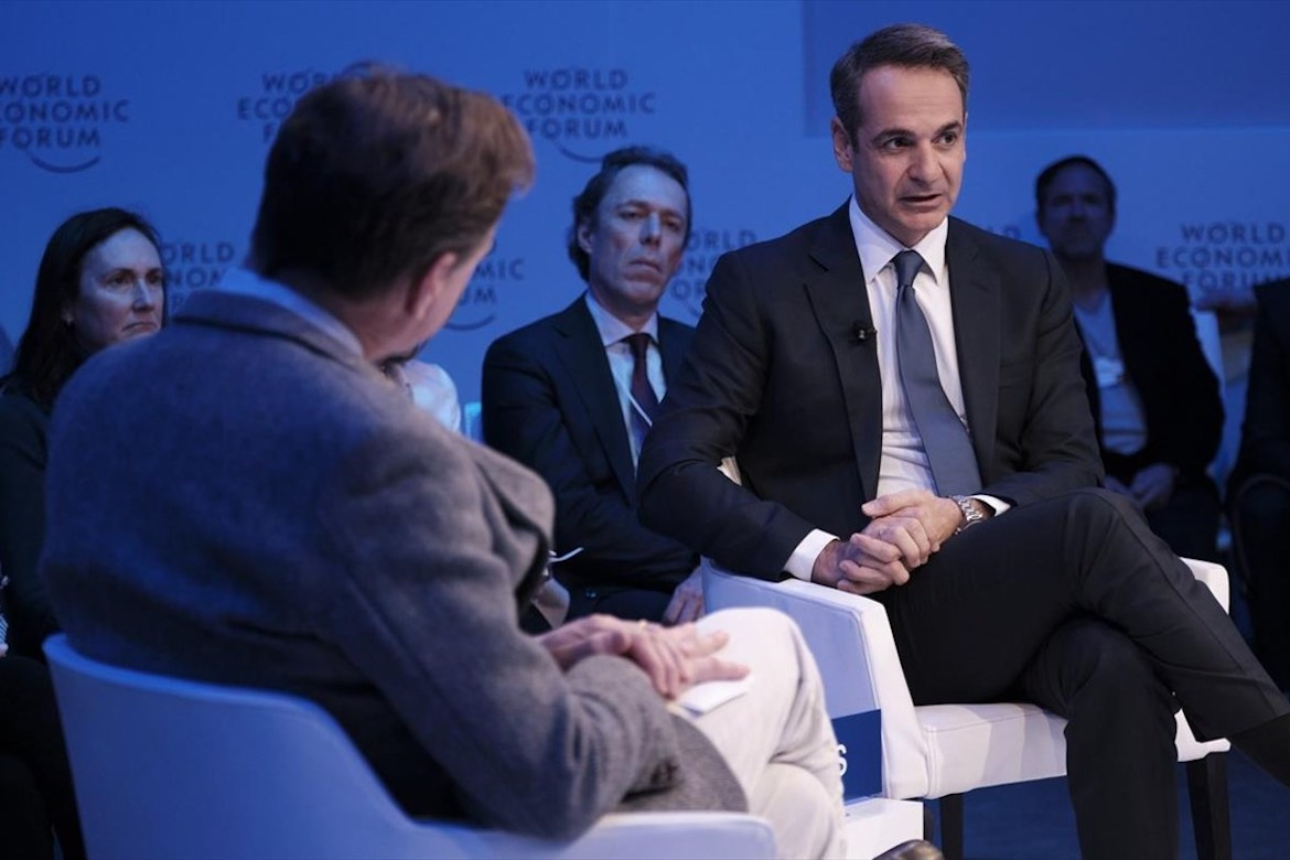 Greece's Prime Minister Makes His Case on Global Stage at Davos