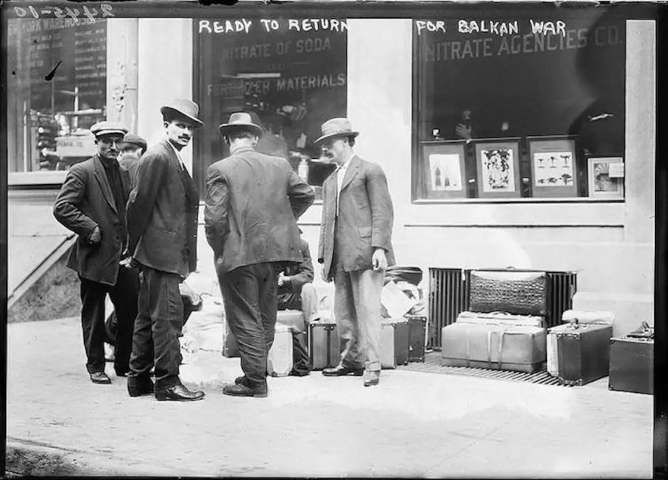 Greek immigrants Balkan War