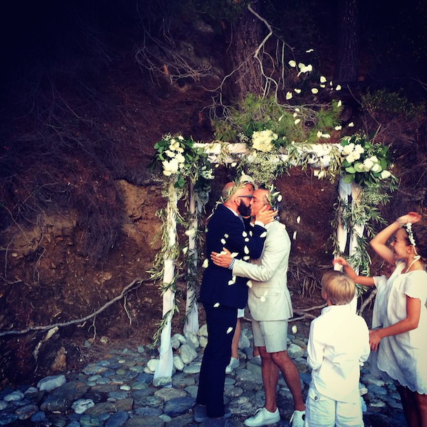 Mamma Mia! A Skopelos wedding for Lance and Harry