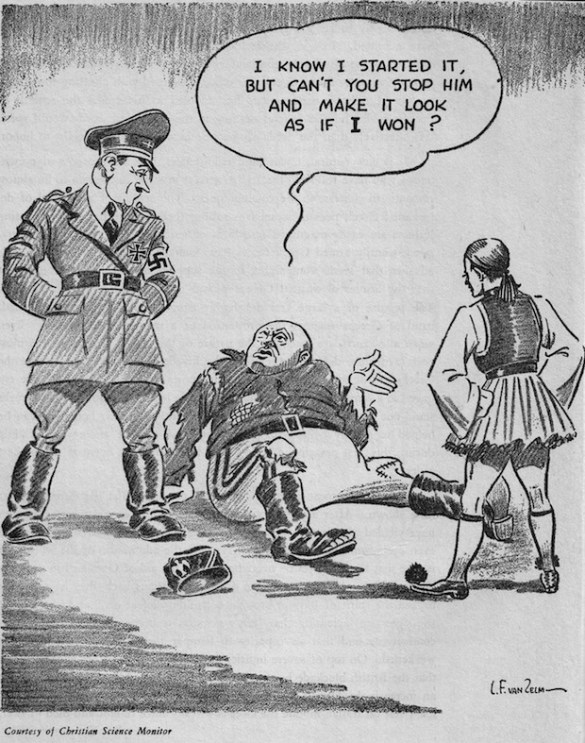 """(Photos) How Did the US Media Respond to Greece's """"No"""" and Subsequent Victory During WWII?"""
