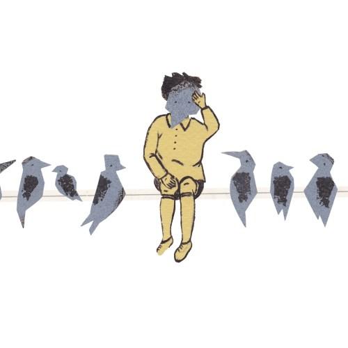Vogelmann-Vögel-Vogelstange