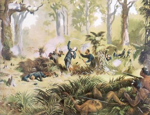 von Tempsky halála (Kennett Watkins munkája)