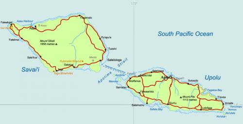 Samoa-map