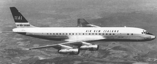 TEAL DC-8