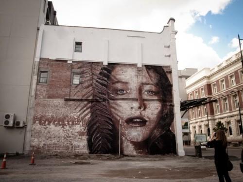 fern-mural