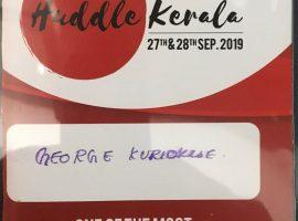 huddle kerala 2019