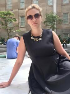 Agnieszka Olkowska z Olsztyna. Do Waszyngtonu trafiła na początku tego roku, gdzie opiekuje się trójką dzieci.