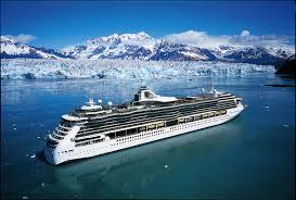 Jedną z ulubionych form am. wypoczynków są rejsy statkami w kierunku Alaski lub Karaibów. cruiser.com to jedna z firm która oranizuje tygodniowe rejsy na Alaskę. zdj. jw.