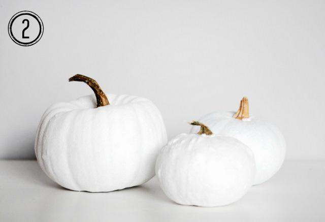 jak udekorować halloweenową dynię