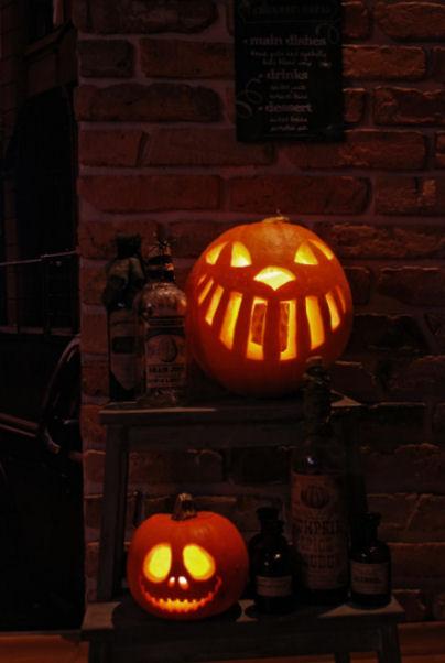 halloweenowa dynia, DIY,