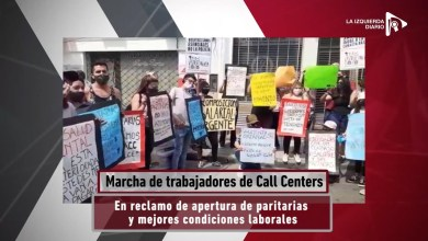 Photo of Argentina: Se movilizaron este jueves las trabajadoras y trabajadores de call center