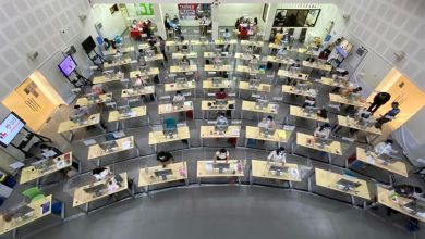 "Photo of Un ""call center"" de profesores para la enseñanza a distancia en Filipinas"