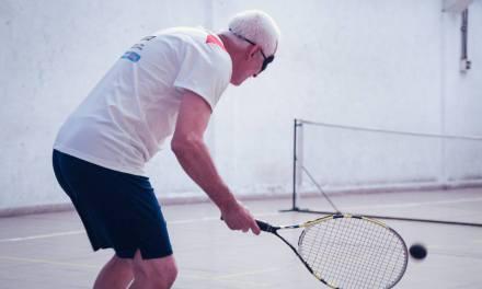 Tenis para ciegos, un deporte que crece