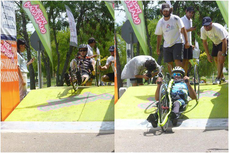La fiesta del ciclismo adaptado se trasladó a Gualeguay