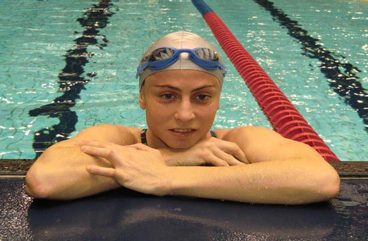 """Anabel Moro: """"La natación es mi pasión, mi trabajo y mi sostén"""""""