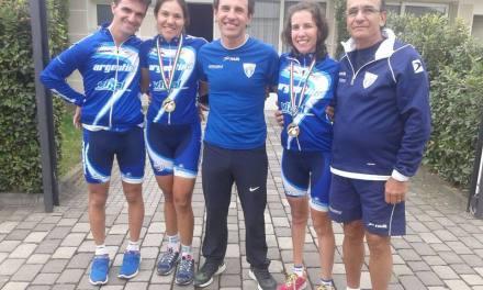 Paraciclismo: Finalizó la primera etapa en la Verona Cup