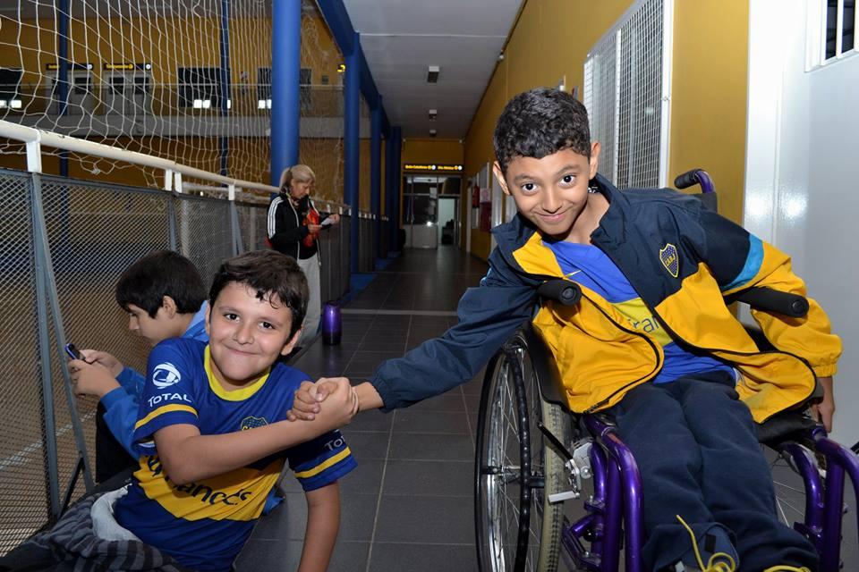 Deporte inclusivo en La Boca