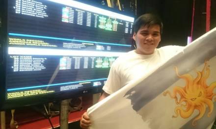 Pesas: Lucas Gareca hizo historia otra vez