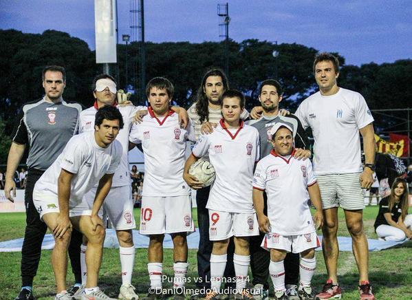Fútbol para ciegos en Chaco y en Huracán