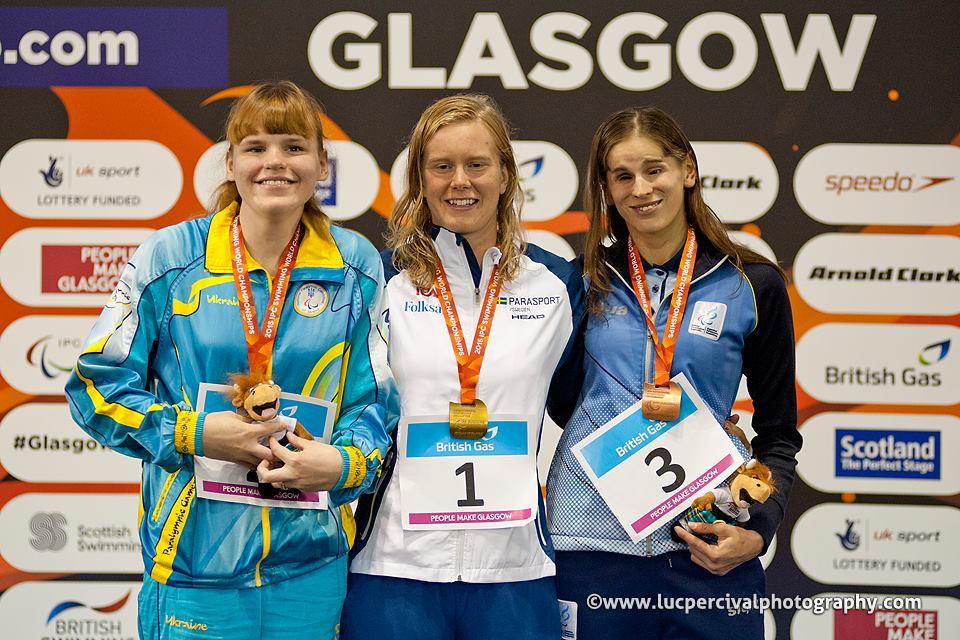 Natación paralímpica: finalizó el Mundial de Glasgow, con Nadia Báez como destacada argentina