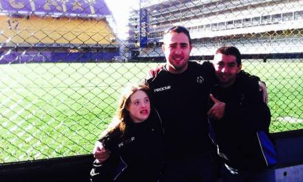 BOCA Social recibió a los integrantes de Olimpíadas Especiales Argentina