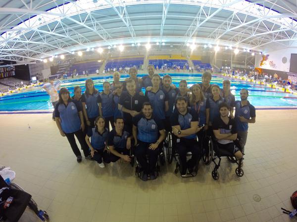 Natación paralímpica: Zayas sigue como protagonista argentino en el Mundial de Glasgow