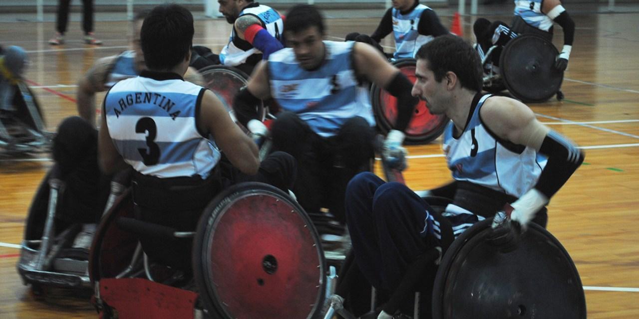 Quad rugby: Argentina superó a Chile con comodidad