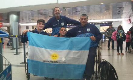 Partió el último grupo hacia Toronto: este jueves, izamiento de la bandera argentina