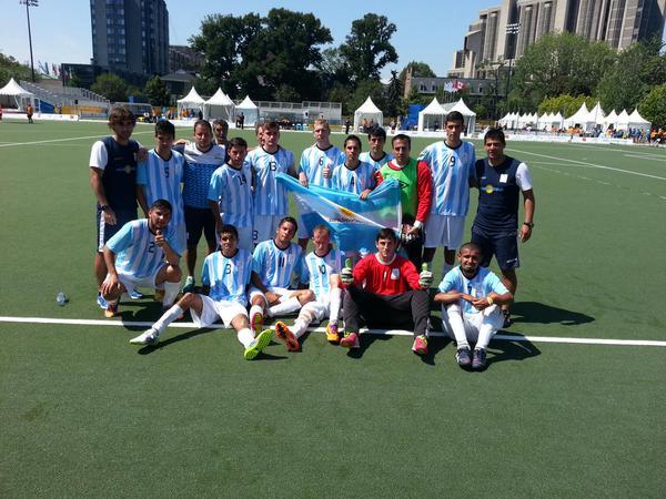 Fútbol 7 / Los Tigres, otra vez en el podio