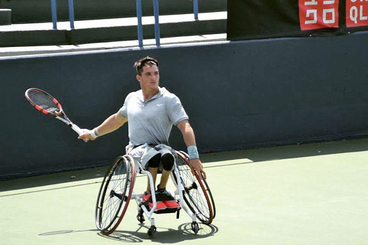Tenis adaptado: Gustavo Fernández, en la final de Saint Louis