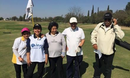 El golf adaptado se prepara para el Torneo Nacional