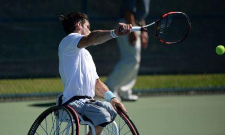 Tenis adaptado: debut con derrota para Fernández en el Masters
