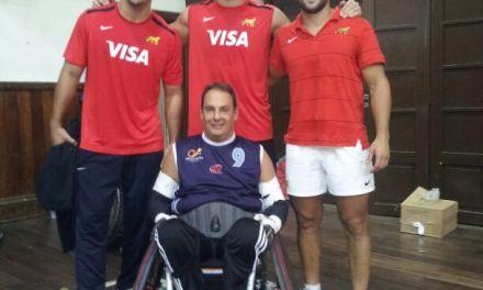 Quad Rugby: Pantín Colombo, el guerrero que va a extrañar la Selección
