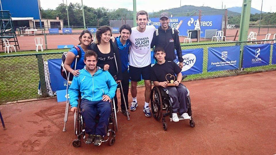 Tenis adaptado: dos títulos para los argentinos en Brasil