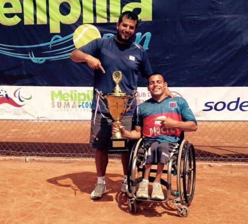 Tenis adaptado: Ezequiel Casco, otra vez campeón en Chile