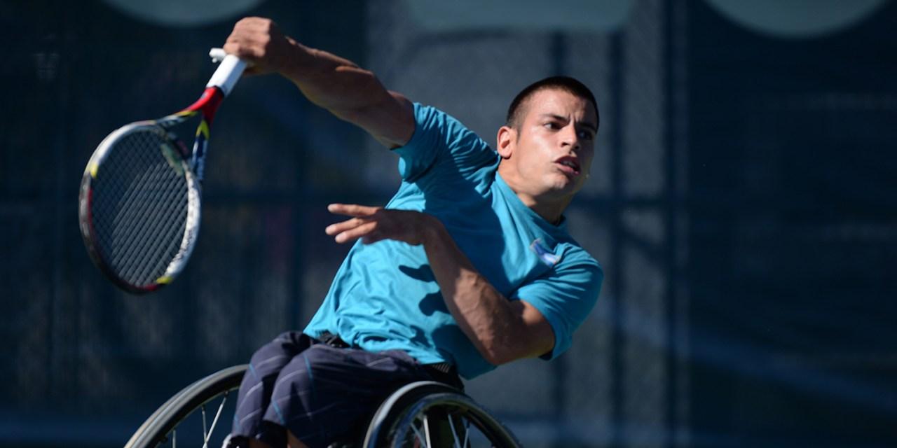 Tenis adaptado: Casco, en semifinales de Ecuador