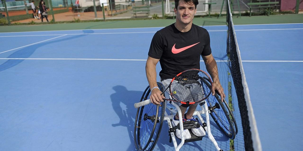 Tenis adaptado: debut con victoria para Fernández en Nottingham