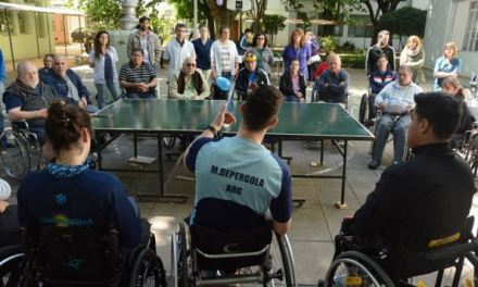 El tenis de mesa y una jornada con mucha alegría