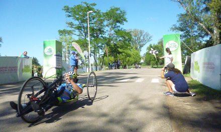 Paraciclismo: Mariela Delgado y Romero-Villalba, campeones argentinos