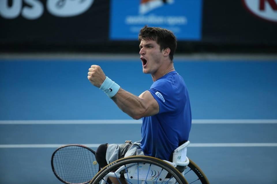 Tenis adaptado: ¡Fernández, campeón en Pensacola!