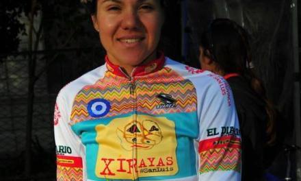 Paraciclismo: entre convencionales, Mariela Delgado arrancó el 2016 en San Luis