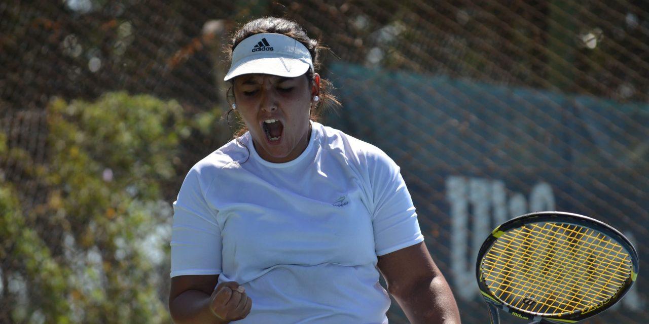 """Tenis adaptado   Florencia Moreno: """"Voy por el título en Cañuelas"""""""