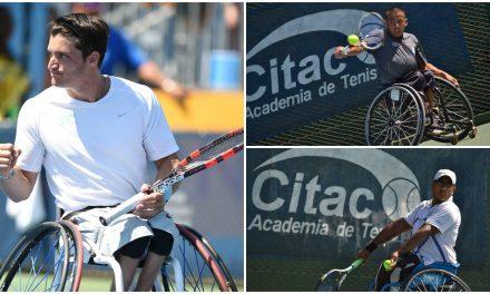 Tenis adaptado: tres argentinos en el top 50