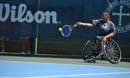 Tenis adaptado: de gira por Brasil y Estados Unidos