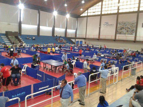 Tenis de mesa adaptado: Copola y Eberhardt, los destacados del primer torneo local