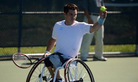 Tenis adaptado: Fernández, semifinalista en Pensacola