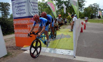 Ciclismo adaptado: Arranca el Campeonato Nacional en Entre Ríos